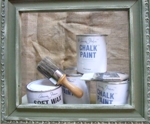 Cans of Annie Sloan Chalk Paint