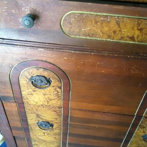 Antique Dresser - Before Chalk Paint